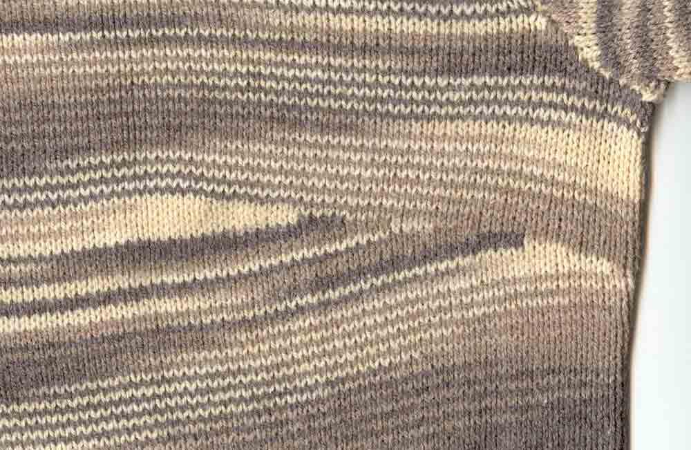Вертикальная вытачка в вязании 26